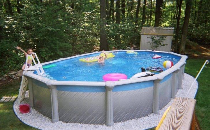 Small Above Ground Pools Yards Swimming Pool Wedonyc