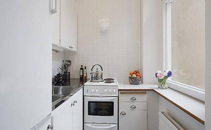 Small Apartment Kitchen Layout Design