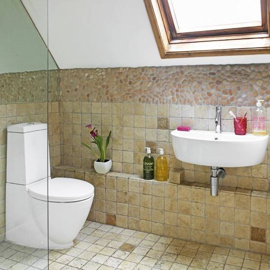 Small Attic Bathroom Sloped Ceiling Eattic