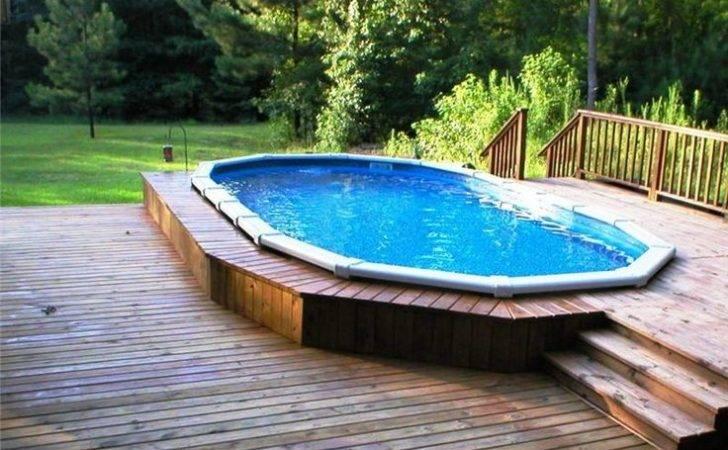 Small Backyard Above Ground Pools Pool