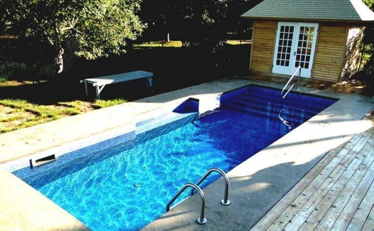 Small Backyards Pools Average Cost Inground