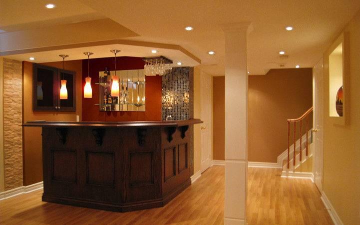 Small Basement Bar Design Ideas