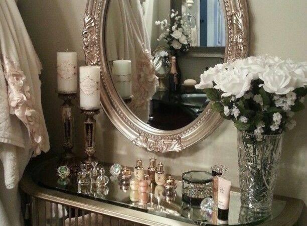 Small Bathroom Luxury Vanity Chair Boudoir Pinterest