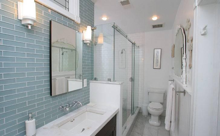 Small Bathroom Tile Ideas Glass Tiles
