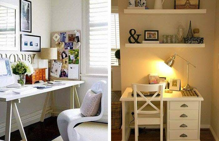 Small Beautiful Home Offices Work Spaces Interior Design