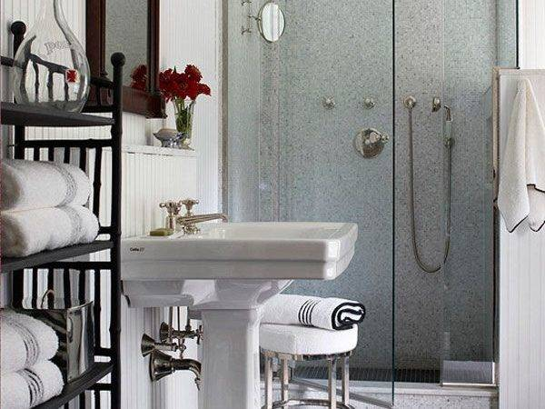 Small But Fancy Walk Shower Awesome Design Ideas