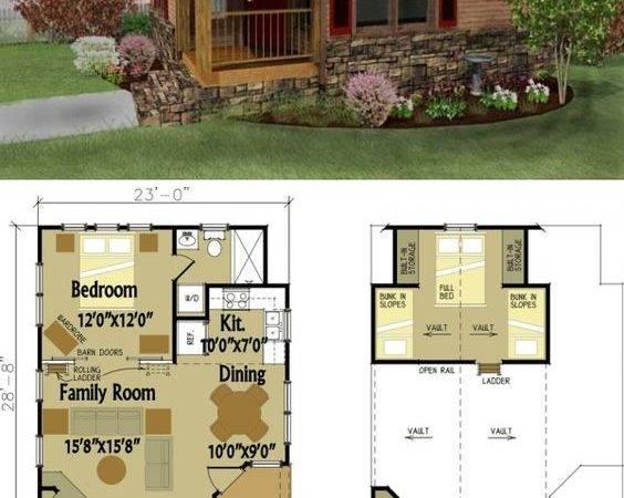 Small Cabin Designs Loft Design