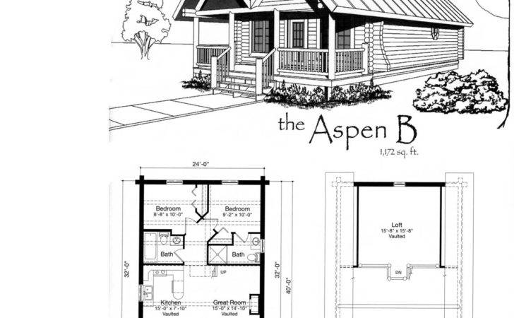 Small Cabin Floor Plans Features Home