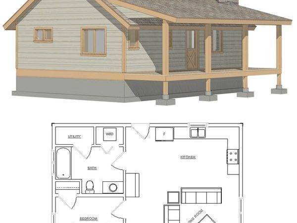 Small Cabin Plans Pinterest Home Tiny