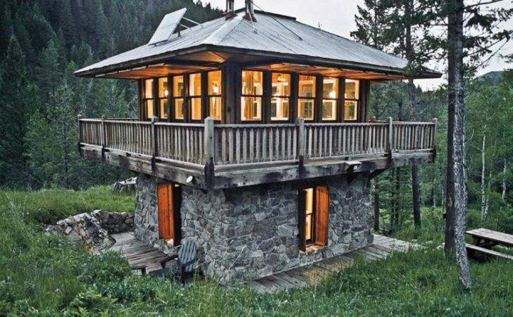 Small Cabins Cabin House Plans Design