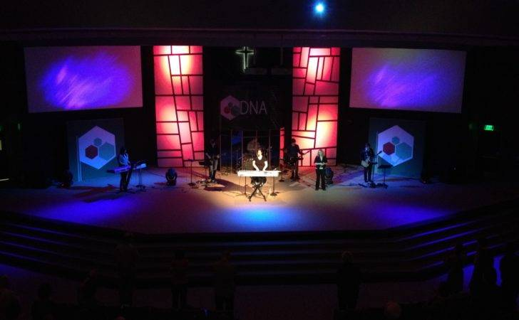 Small Church Stage Design Ideas