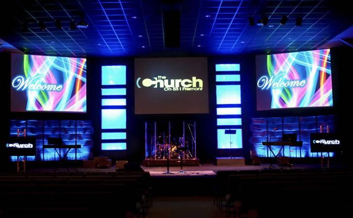 Small Church Stage Design New Board Home