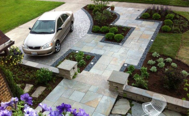 Small Front Yard Driveway Landscaping Ideas Garden Patio