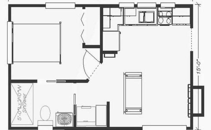 Small Guest House Plans Backyard Joy Studio Design