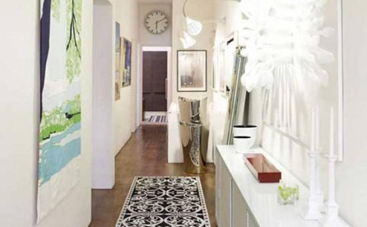 Small Hallway Ideas Decorate Mirrors