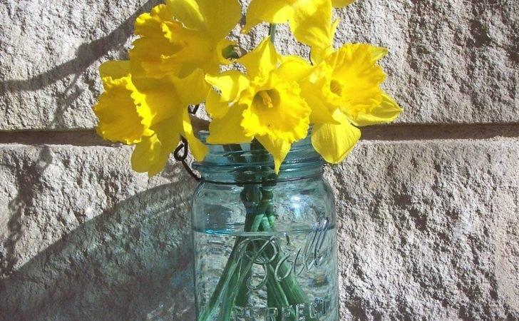Small Hanging Jar Pint Vase Lantern Made Antique