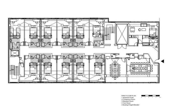 Small Hotel Design Plans Floor Plan Numbers
