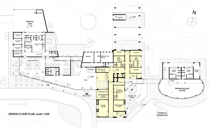 Small Hotel Plans Designs