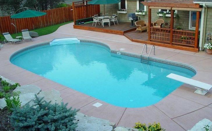 Small Inground Pool Custom Pools Peterson