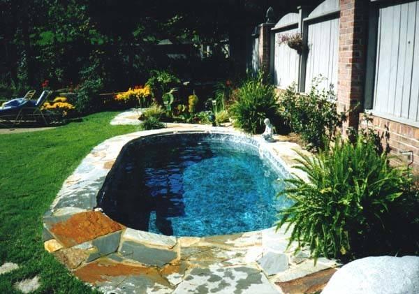 Small Inground Pools Spaces Joy Studio Design