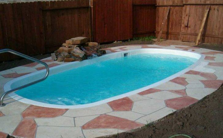 Small Inground Pools Yards Collection Including