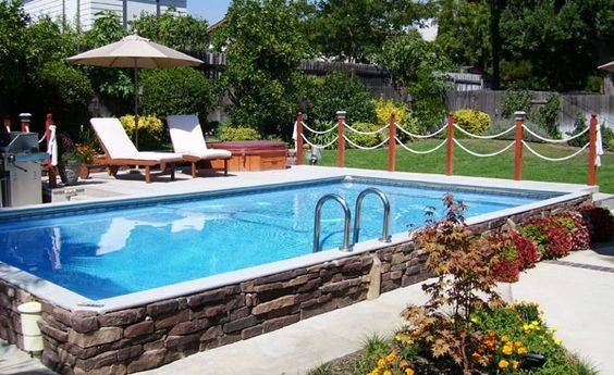 Small Inground Pools Yards Islander Secard