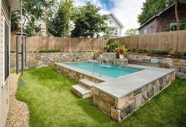 Small Inground Swimming Pool Pools
