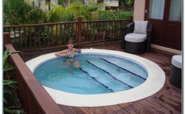 Small Inground Swimming Pools Home Decorating