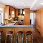 Small Kitchen Breakfast Bar Luxury