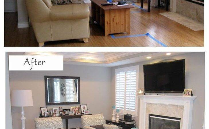 Small Living Room Design Before After