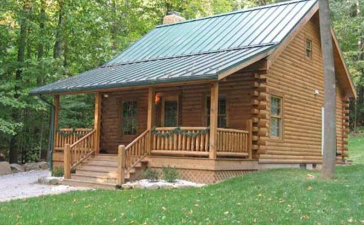 Small Log Cabin Kit Plans Design Nice Convenient