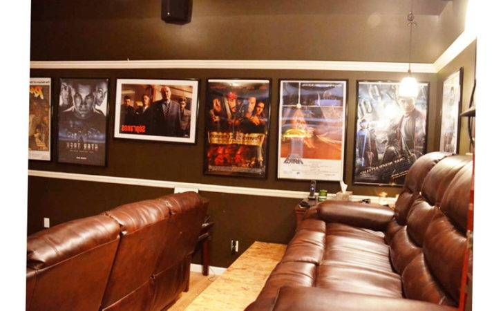Small Man Cave Ideas Colors Good Chairs Painting Wall