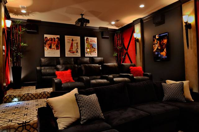 Small Media Room Design Ideas Interior