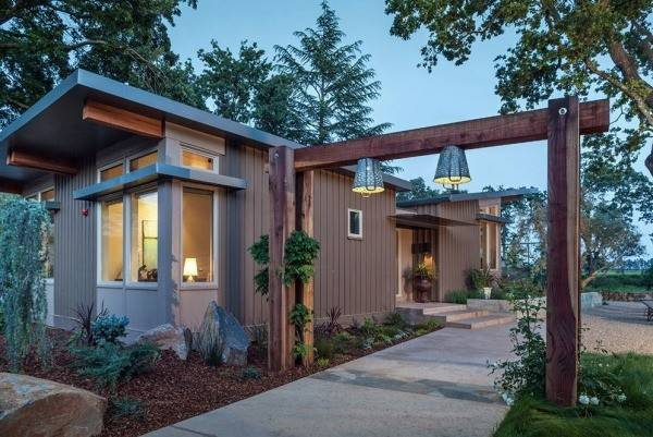 Small Modern Prefab Homes Home Napa