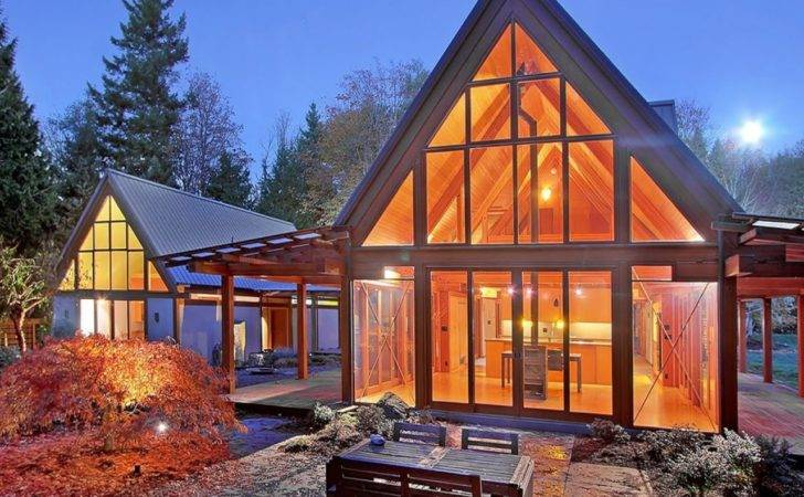 Small Mountain Cabin Modern Cabins Designs Wood Plans