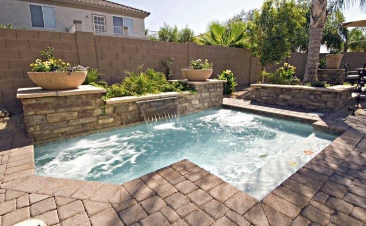 Small Pool Designs Yards Interesting Backyard