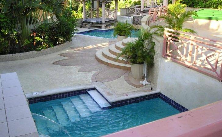 Small Pool Designs Yards Swimming Cool Rectangle