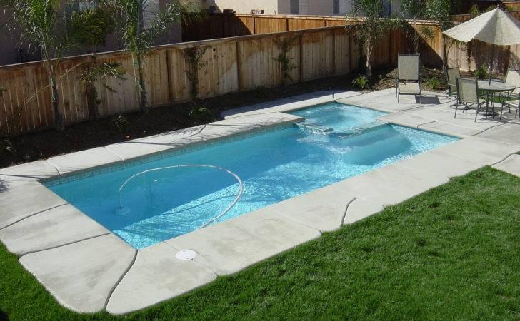 Small Rectangular Pool Designs Design Ideas Along