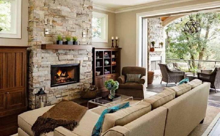 Small Room Idea Fireplace Modern Design