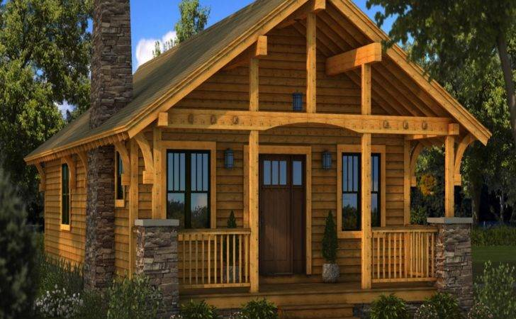Small Rustic Log Cabins Cabin Homes Plans Lrg