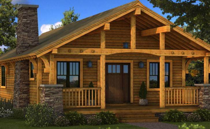 Small Rustic Log Cabins Cabin Homes Plans One Story
