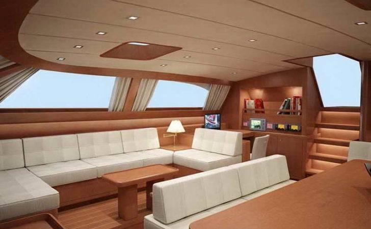 Small Sailboat Interior Design Ideas Luxury Yacht