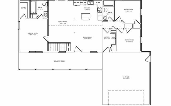 Small Split Bedroom Greatroom House Plan Houseplan