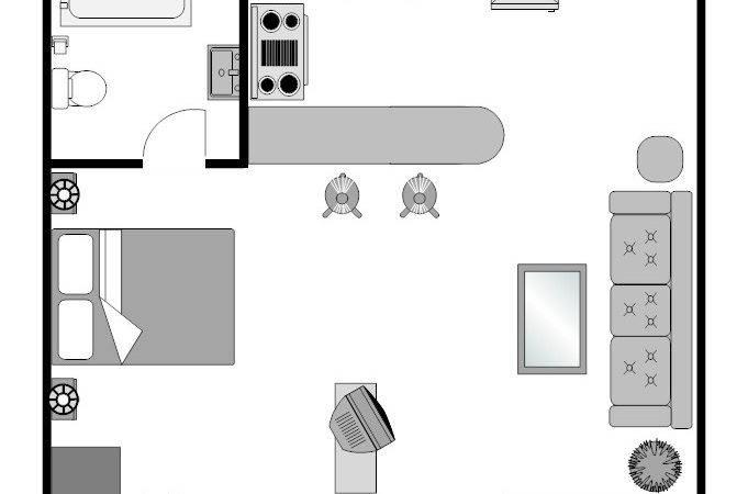 Small Studio Apartment Design Plans Joy