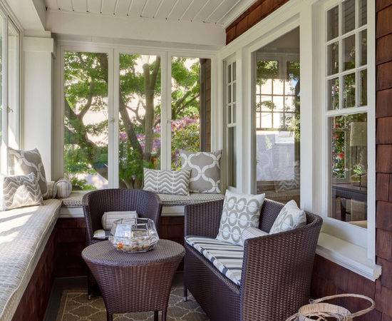Small Sunroom Home Design Ideas Remodel Decor
