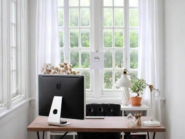 Small Sunroom Workspace Ideas Little Cozy Design