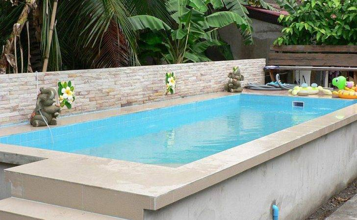 Small Swimming Pool Right Solution Above Ground