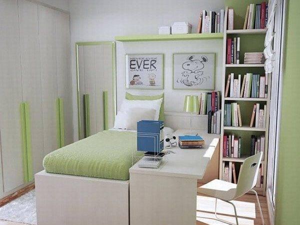 Small Teen Room Design Idea