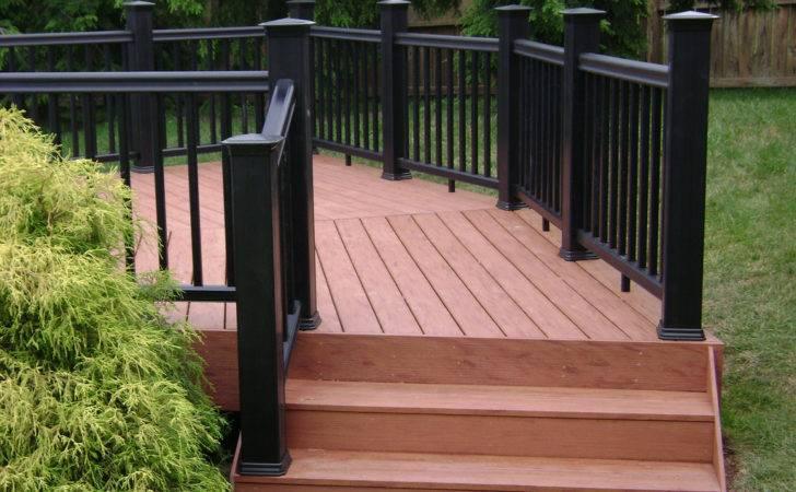 Small Timbertech Rosewood Deck Cool Decking Color Breyerconstruct