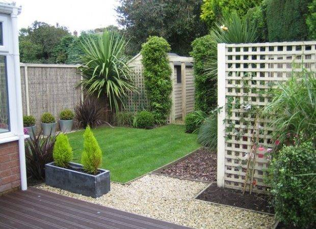 Small Triangular Garden Wilmslow Outside Rooms